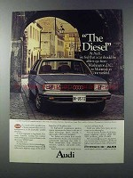 1981 Audi 5000S Diesel Ad - Go From D.C. to Montreal