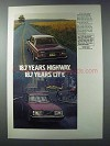 1981 Volvo Cars Ad - 18.7 Years Highway