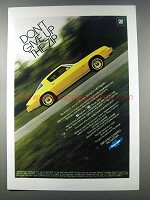 1981 Chevy Camaro Ad - Don't Give Up The Zip