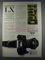 1981 Pentax LX Camera System Ad - Years of Research