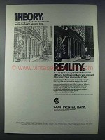 1981 Continental Bank Ad - Theory