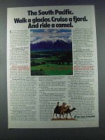 1981 Air New Zealand Ad - The South Pacific