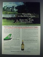 1981 Jameson Irish Whiskey Ad - Trip to 18th Century