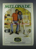 1981 Arrow Honeydew Melon Ad - Melonade