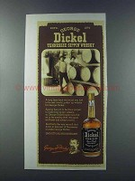 1981 George Dickel Whisky Ad - Tennessee Sippin'