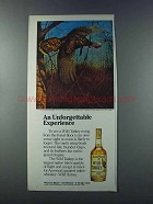 1981 Wild Turkey Bourbon Ad - Unforgettable Experience