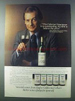 1981 Taylor California Cellars Wines Ad - Outstanding