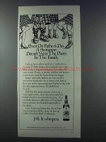 1981 J&B Scotch Ad - Even On Father's Day Scotsman