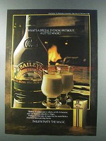 1981 Baileys Irish Cream Ad - A Little Magic