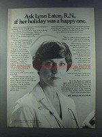 1981 House of Seagram Ad - Ask If Holiday Was Happy