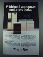 1981 Whirlpool Appliances Ad - Tomorrow Today