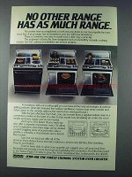 1981 Jenn-Air Dual Use Oven Ad - No Other Range