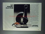 1981 Stihl 041AV Farm Boss Chain Saw Ad