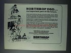 1981 Northrop DSD Defense Systems Division Ad