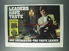 1981 A&C Grenadiers Cigars Ad - Leaders Have Taste
