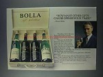 1981 Bolla Wines Ad - Can be Opened Four Times