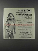 1981 Sunup / Sundown The St. Croix Swimsuit Ad