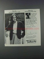 1981 Talbots Fashion Ad - Well-Dressed Woman Wears