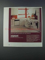 1981 Poggenpohl Form 2000 Series CC 1000 Cabinetry Ad