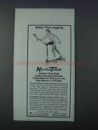 1981 NordicTrack Exercise Machine Ad - Better Jogging