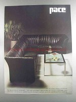 1982 Pace Uno due Seating Ad - Design by G. Faleschini