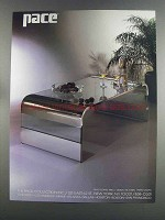 1982 Pace 3800 Coffee Table Ad - i.m. Rosen