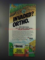 1982 Ortho Diazinon Ad - Invaded?