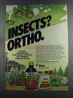 1982 Ortho Malathion Ad - Insects?