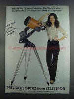 1982 Celestron C8 Telescope Ad - Most Recommended