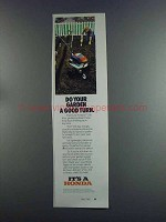 1982 Honda F-200 Tiller Ad - Do Garden a Good Turn