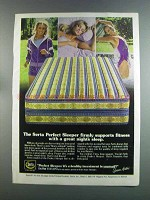 1982 Serta Perfect Sleeper Mattress Ad - Susan Anton