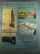 1982 Pearson Lane Furniture Ad - Finesse