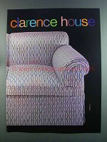 1982 Clarence House Bargello Fabric Ad