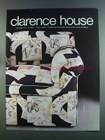 1982 Clarence House Japonerie Fabric Advertisement