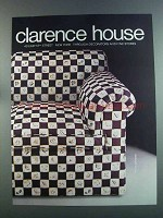 1982 Clarence House Petite Japonerie Fabric Ad