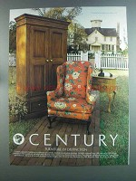 1982 Century Craftsbury Furniture Collection Ad