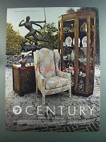 1982 Century Confidante Chest and Curio Ad