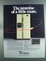 1982 Whirlpool Refrigerator Ad - The Promise of More