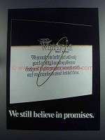 1982 Whirlpool Appliances Ad - We Believe in Promises
