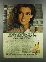 1982 Mary Kay Beauty Products Ad - Self-Confidence