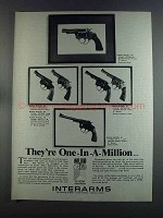 1982 Interarms Rossi Revolver Ad - 88 68 69 70 31 51