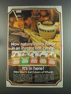 1982 Nabisco Mix 'n Eat Cream of Wheat Ad