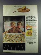 1982 Nabisco Triscuit Crackers Ad - Shirley Jones - Cheese Bored