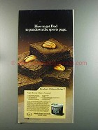 1982 Hershey's Cocoa Ad - Fudgey Brownie Recipe