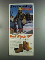 1982 Red Wing Boots Ad - Model 1212, 2244, 2194
