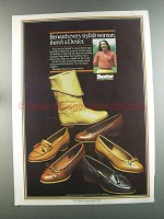 1982 Dexter Shoes Ad - Beneath Every Stylish Woman