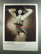 1982 Gaviota Swimsuit Ad - A Different Point of View