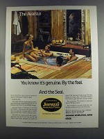 1982 Jacuzzi Avanza Whirlpool Ad - It's Genuine