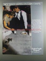 1982 Cabin Crafts Carpets Ad - Nice Things Happen On