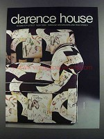 1982 Clarence House Japonerie Fabric Ad